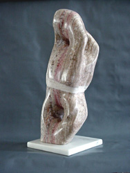 """Ukei"" Sculpture - Available (translation: Leaning to the Right)"